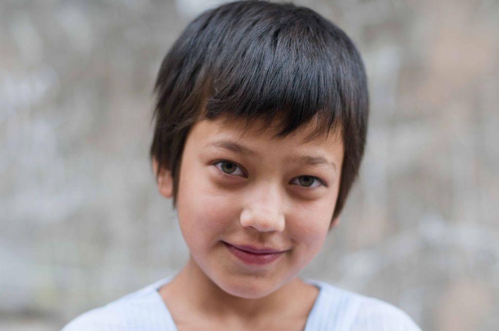 Young Uyghur girl, Kashgar old town, 2