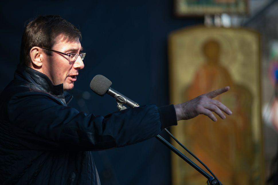 47 - ex-minister Yurii Lutsenko