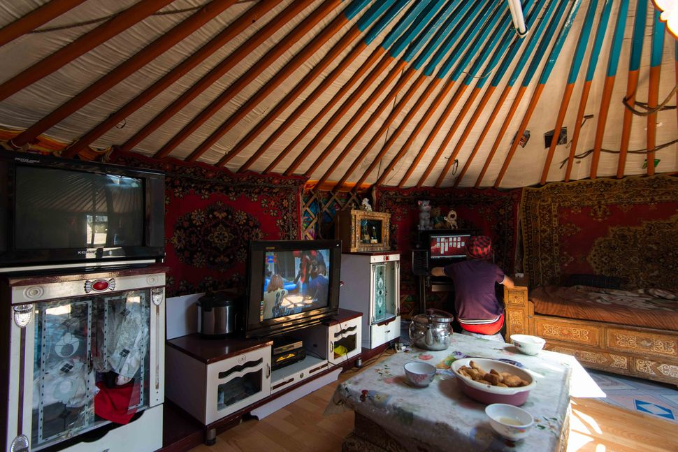 Mongolian tent - Zamyn Uud