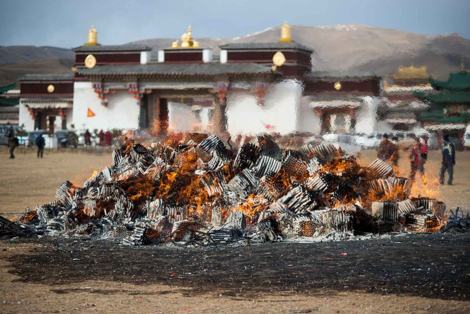 Monlam - Tibetan New Year 2018; Gomen monastery, Sichuan, China