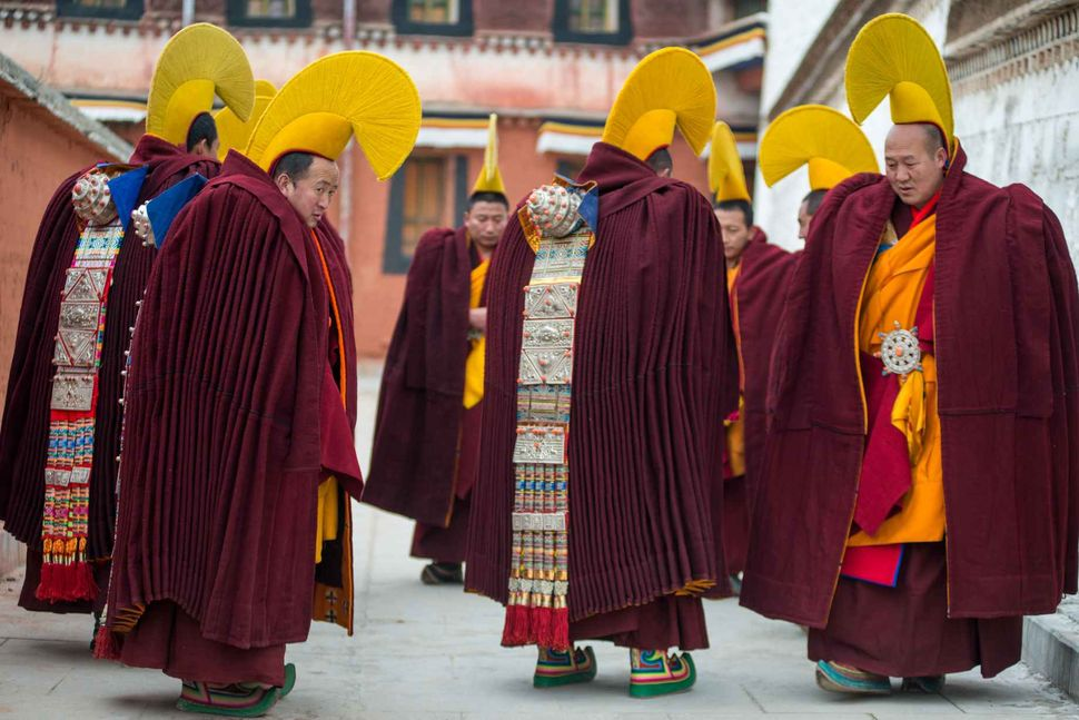 Monlam - Tibetan New Year 2018; Labrang monastery, Gansu, China