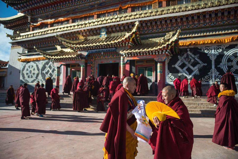 Monlam - Tibetan New Year 2018; Manyi Bon monastery, Aba, Sichuan, China