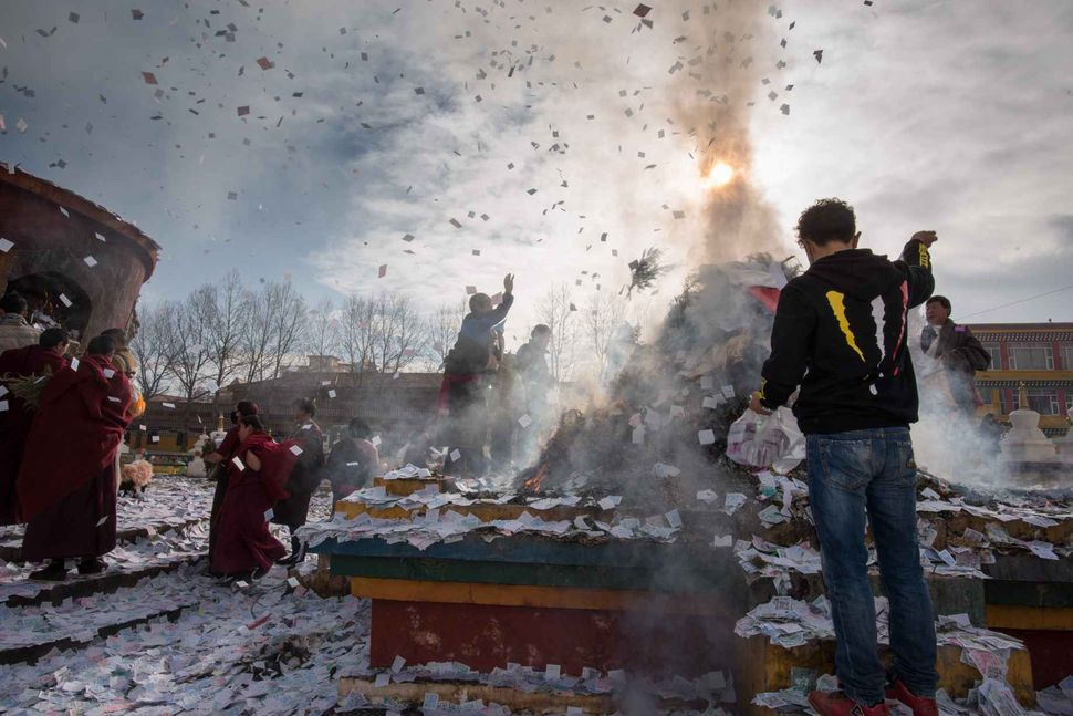 Monlam - Tibetan New Year 2018; Si monastery, Sichuan, China