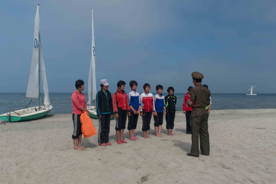 North Korea - Stolen moments