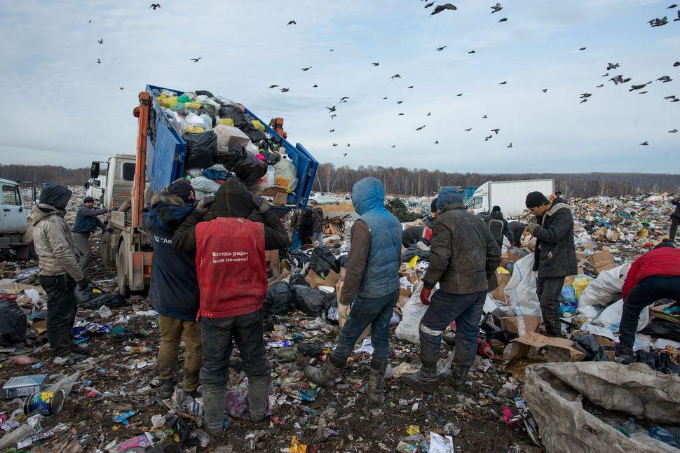Novosibirsk landfills