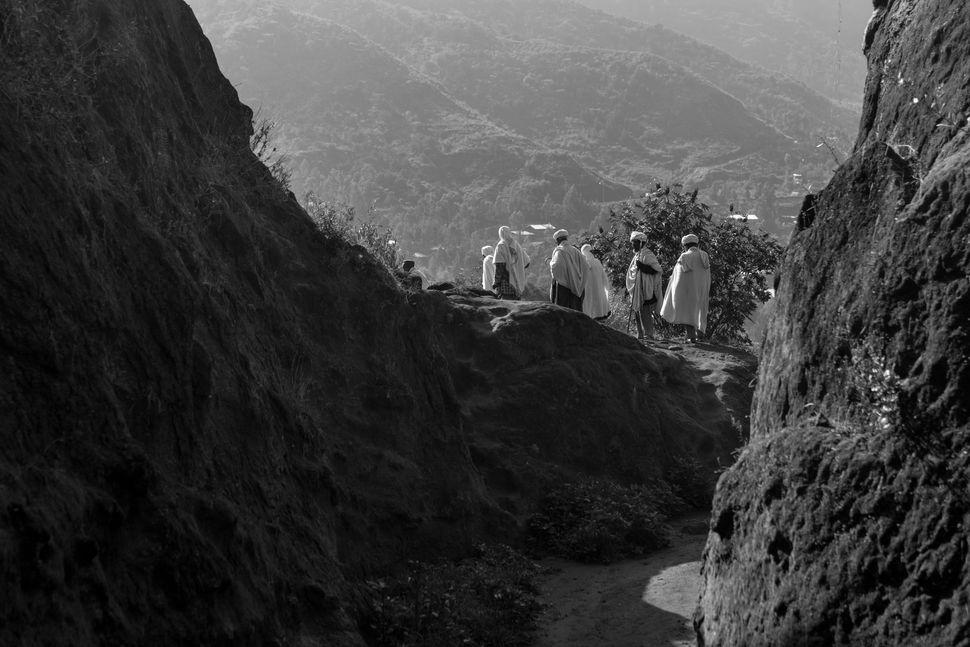 Biblical landscape, Lalibela