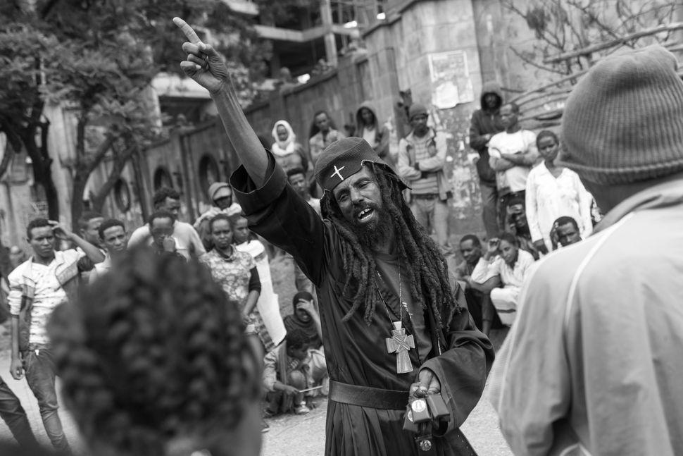 Street preacher 2, Addis Abeba