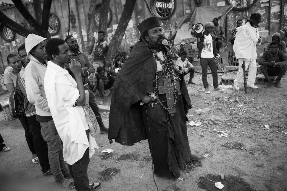 Street preacher 3, Addis Abeba