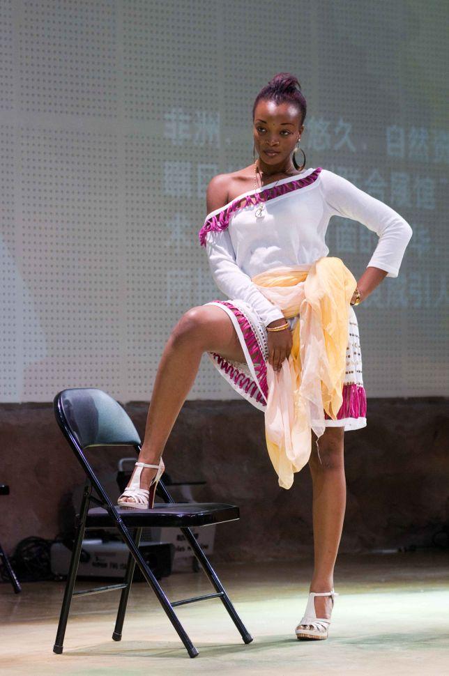 Afirca Pavilion - Fashion show