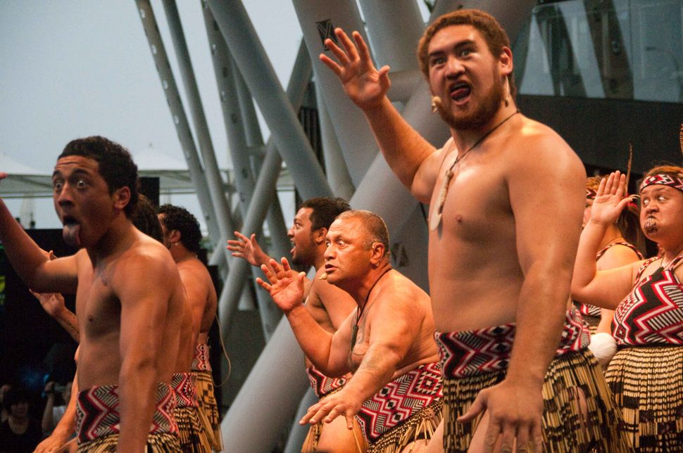 New Zealand Stage - Haka dance 2
