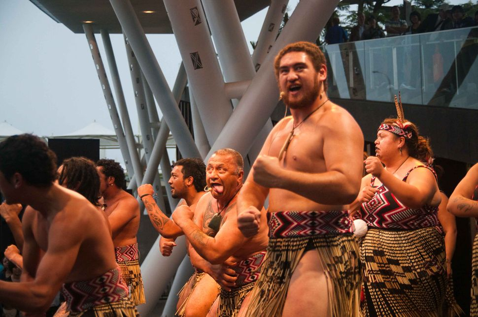 New Zealand Stage - Haka dance