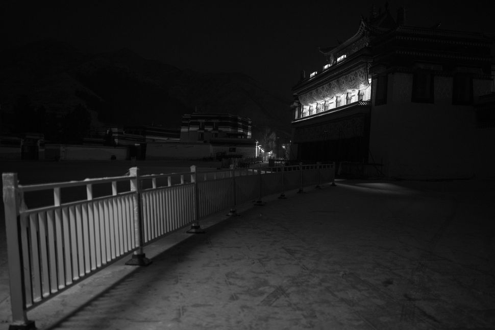 The third day of Monlam: The display of butter sculptures/Labrang by night