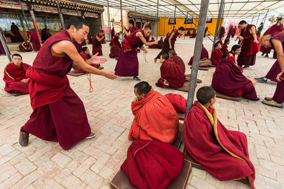 Tibetan Buddhist debates 1