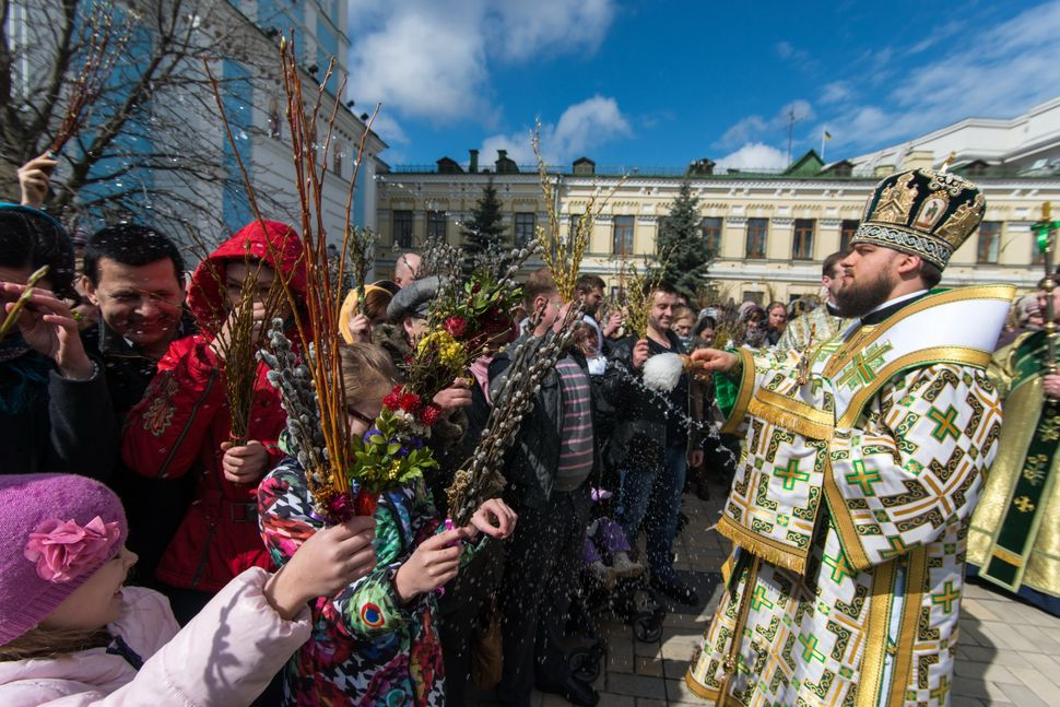 Ukraine, Kiev - Palm Sunday 2015