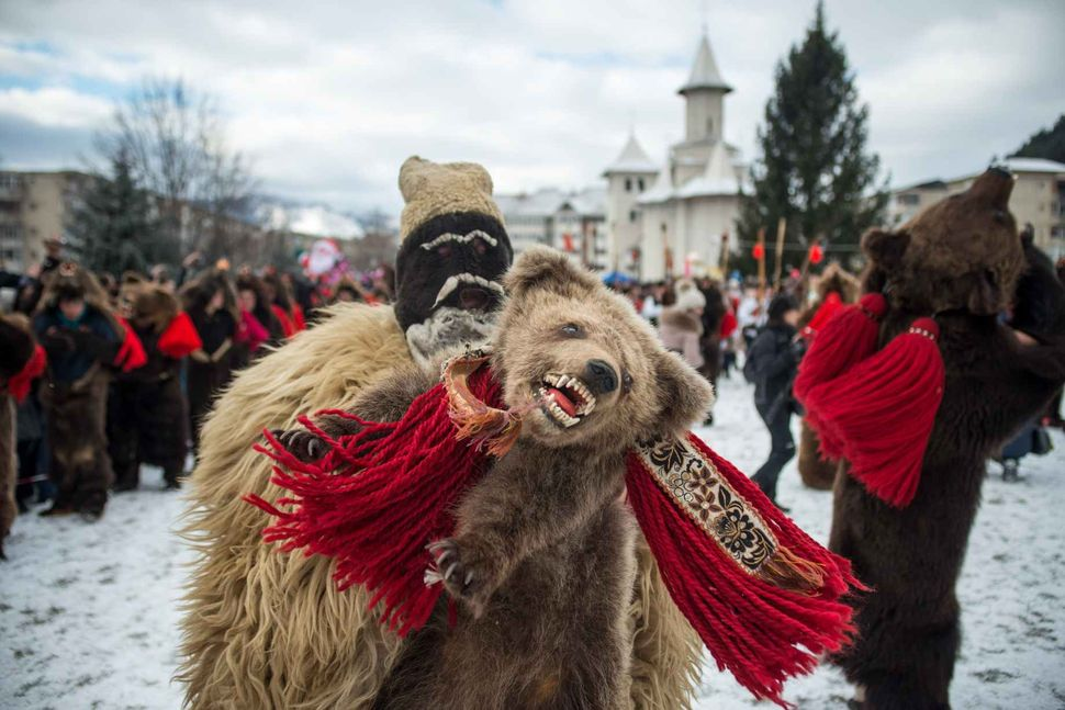 Winter traditions in Romania (Moldova)