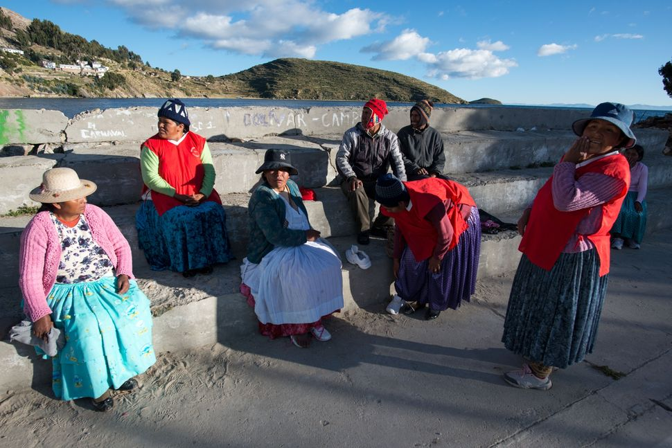 Women´s football tournament, Isla del Sol, Bolivia