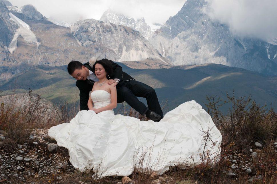 Bride and groom - Lijiang 3