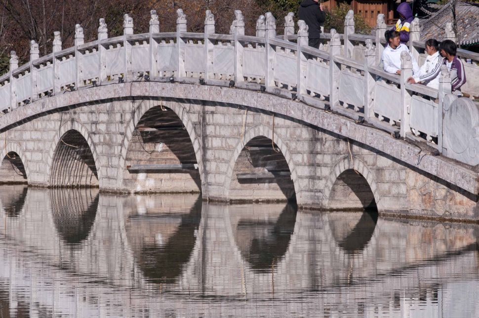 Bridge, Black Dragon Pond Park, Lijiang