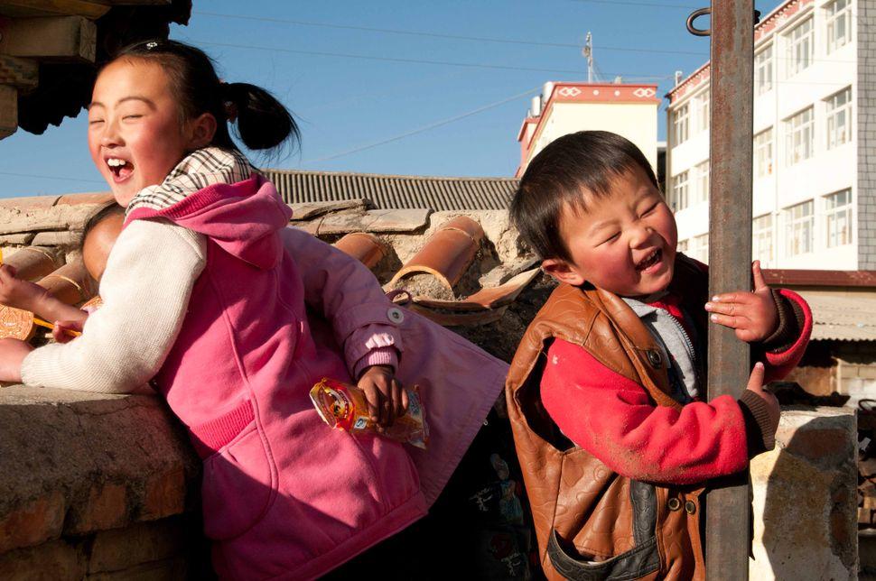 Joy! Children in Shangrila