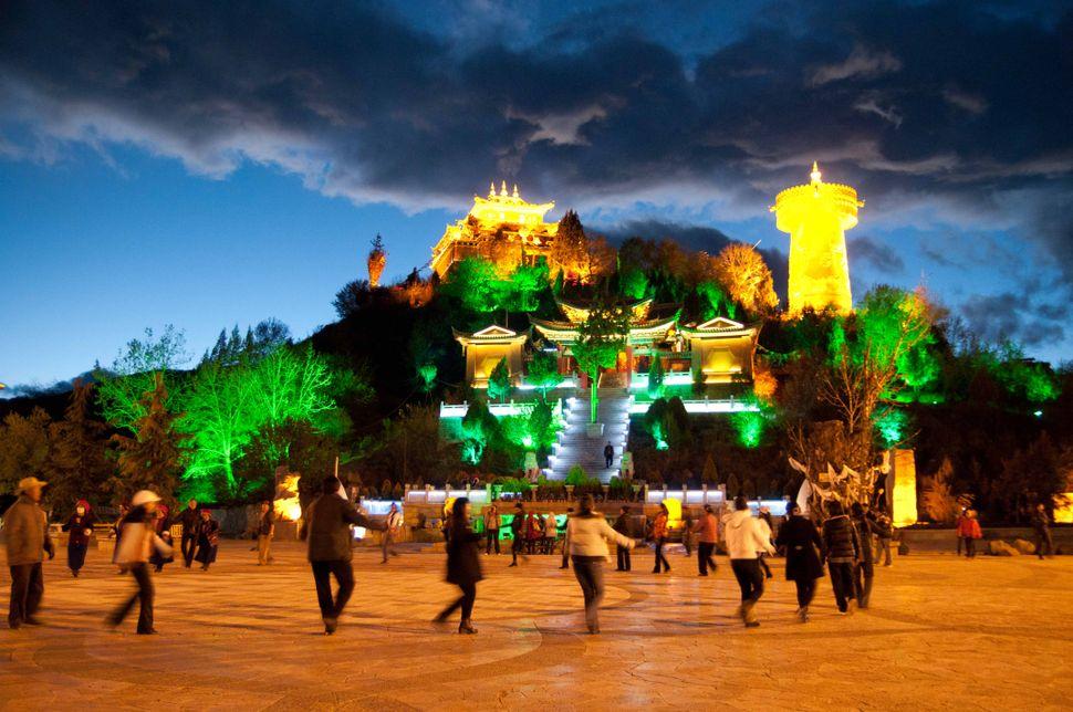 Tibetan disco