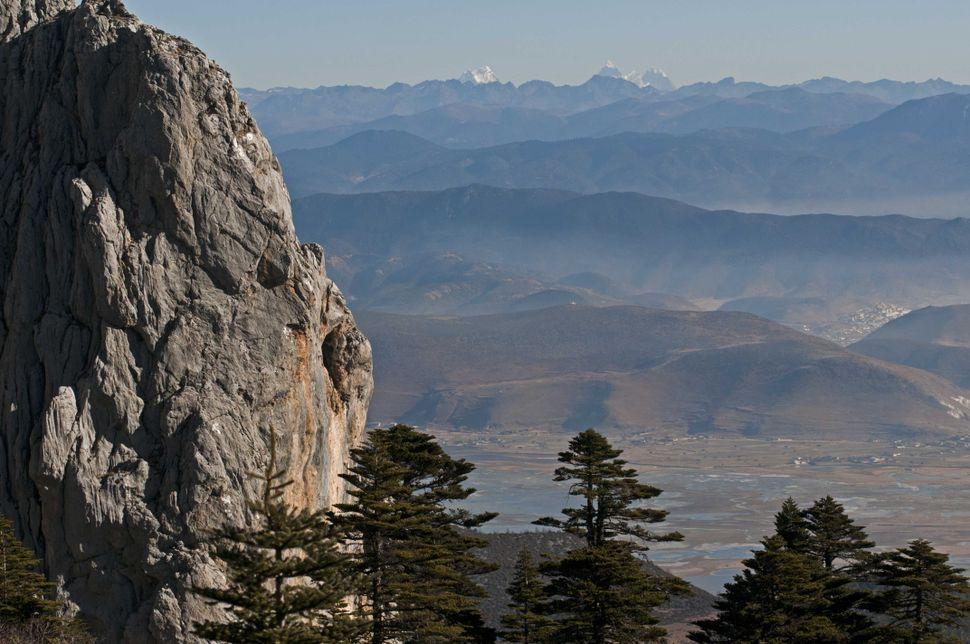 View from Shika mountain top
