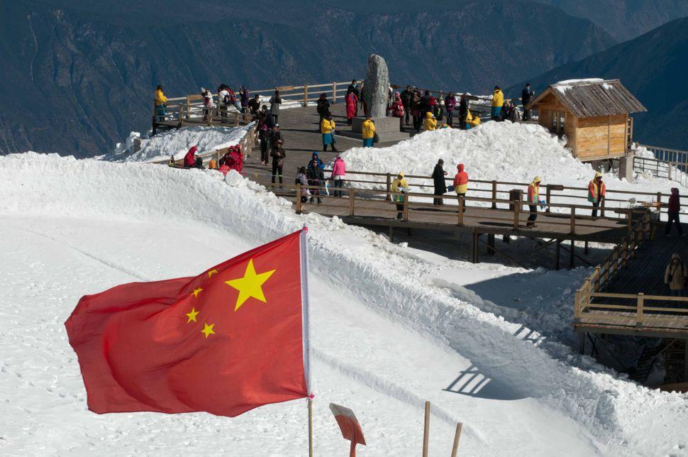 Yulong top (4860 m)
