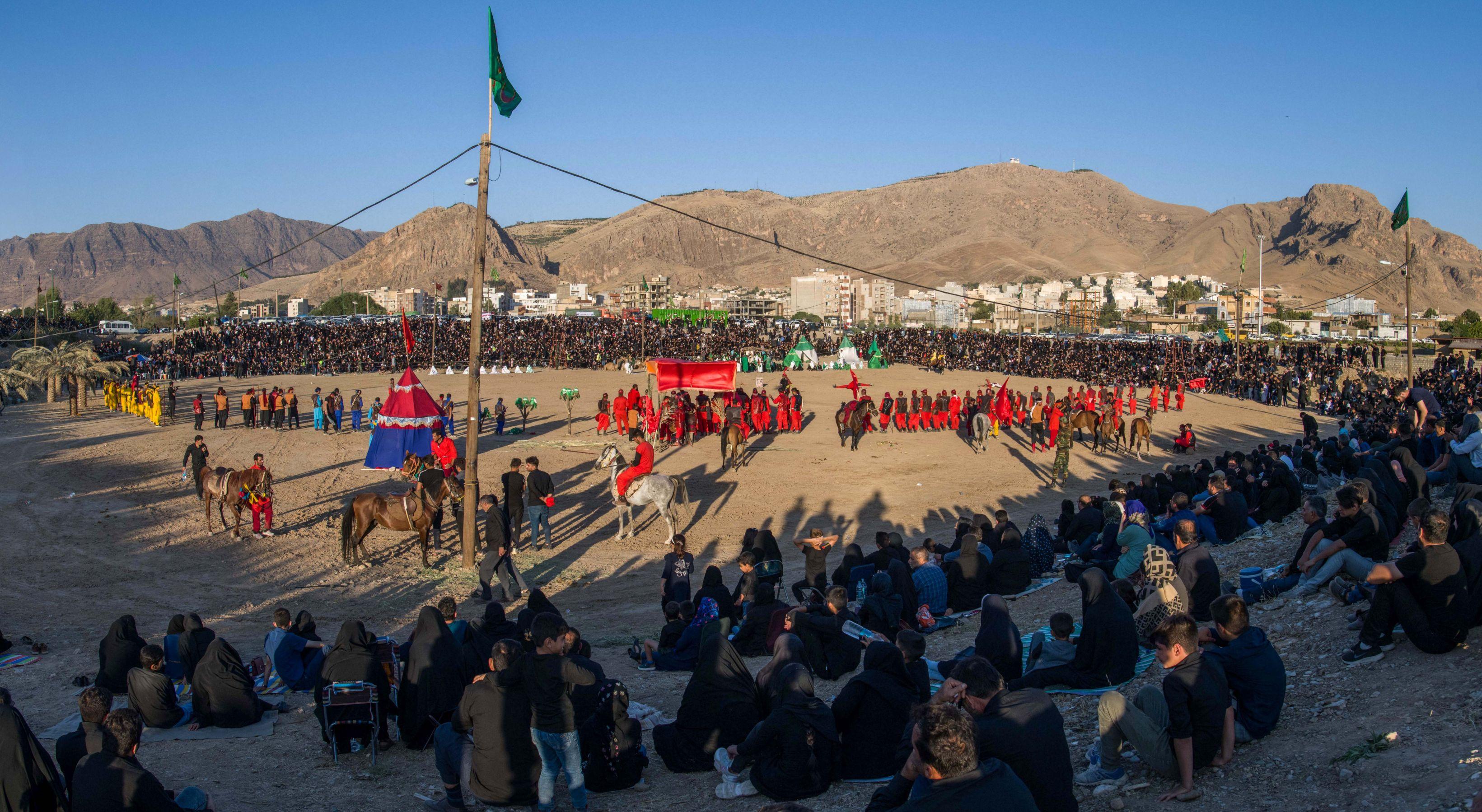 Ta´ziyeh scene, Khorramabad